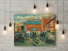highfield road gtm  canvas a3 size